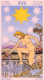 El arcano XVII- La Estrella