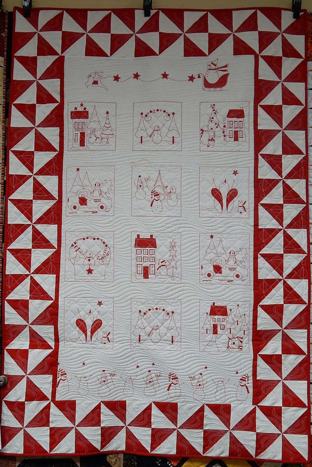 Quilting Blog - Cactus Needle Quilts, Fabric and More: Winter ... : winter wonderland quilt - Adamdwight.com
