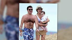 Simon Cowell passe du temps en famille à la Barbade
