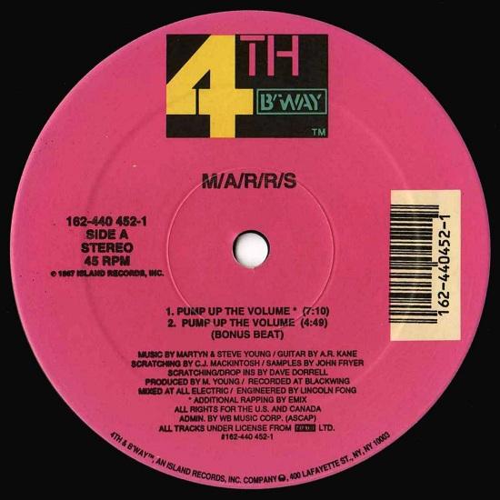 MARRS Pump Up The Volume Remix