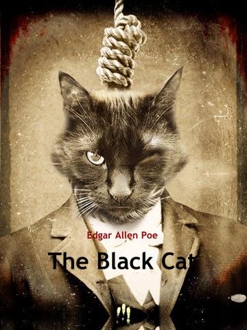 El espejo g tico el gato negro edgar allan poe relato - El gato negro decoracion ...
