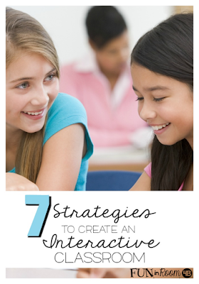 Need to find some ways to create a more interactive classroom for your English Language Learners?  Use these 7 easy strategies to help you discover how you can build your students language while promoting a warm, inviting classroom.  (Check out strategy #6, it's a favorite!) Education matters!