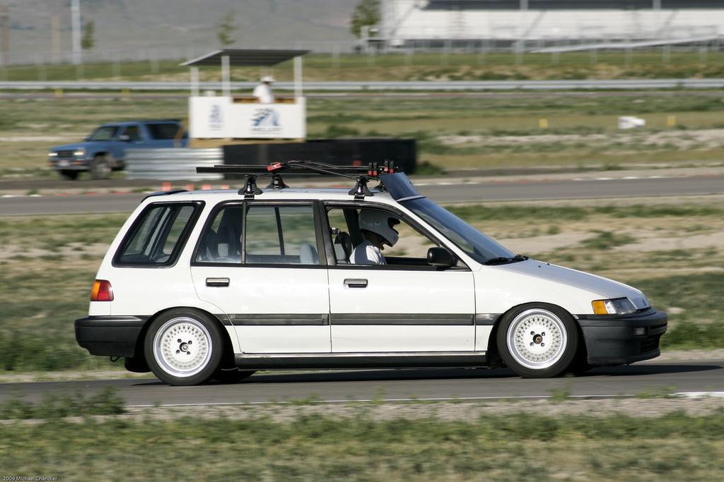 Honda Civic Shuttle, mało znane samochody, auta z lat 90, wyścigi, スポーツカー、チューニングカー、自動車競技