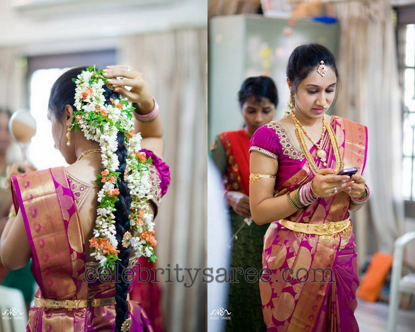 Rich Work Designer Blouse for Wedding - Saree Blouse Patterns