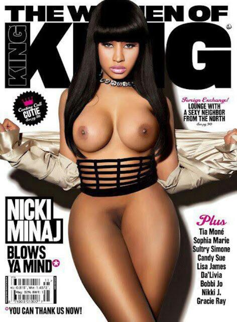 Nicki Minaj Complete Naked 113