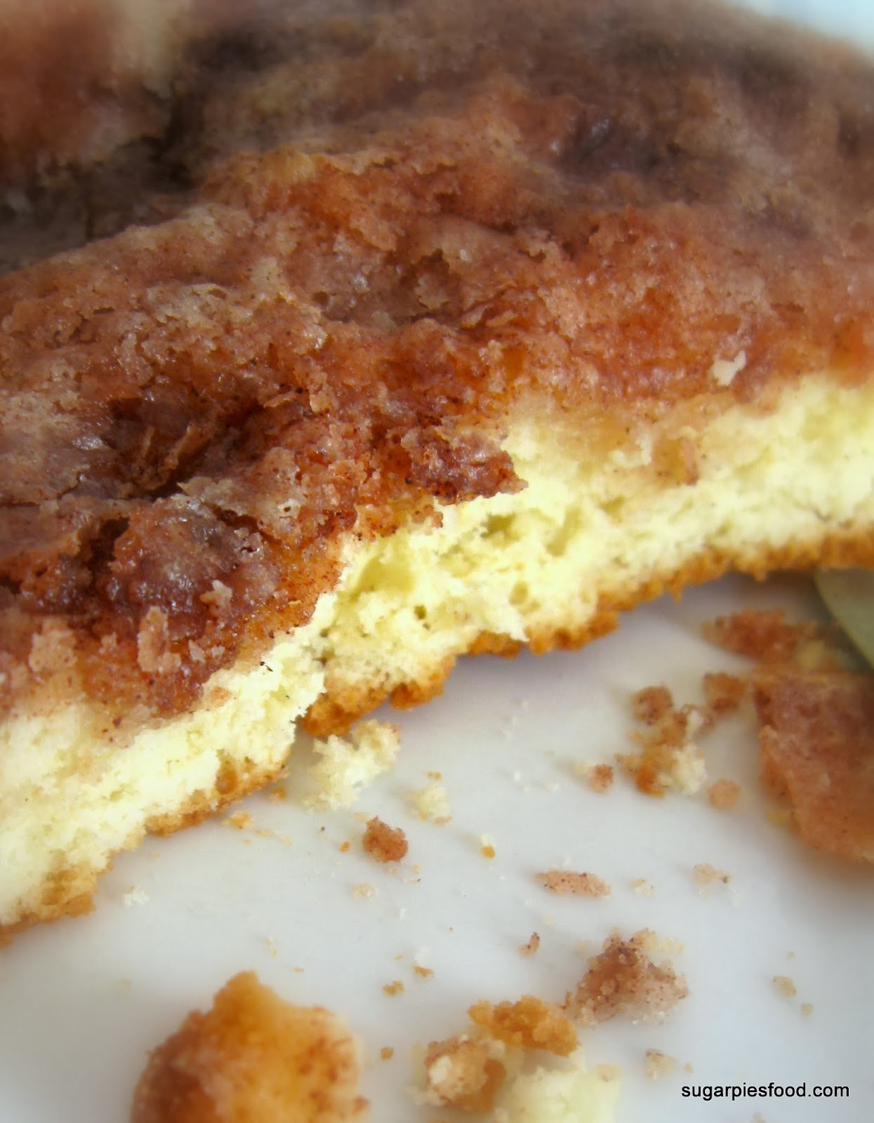 Retro Cinnamon Sugar Coffee Cake - Sugar Pies