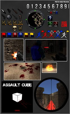 Protox Mod for AssaultCube Preview