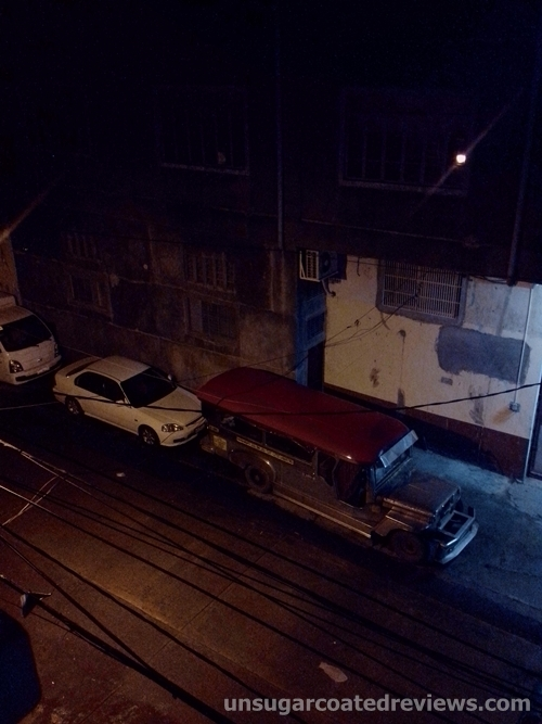 Caloocan street at night