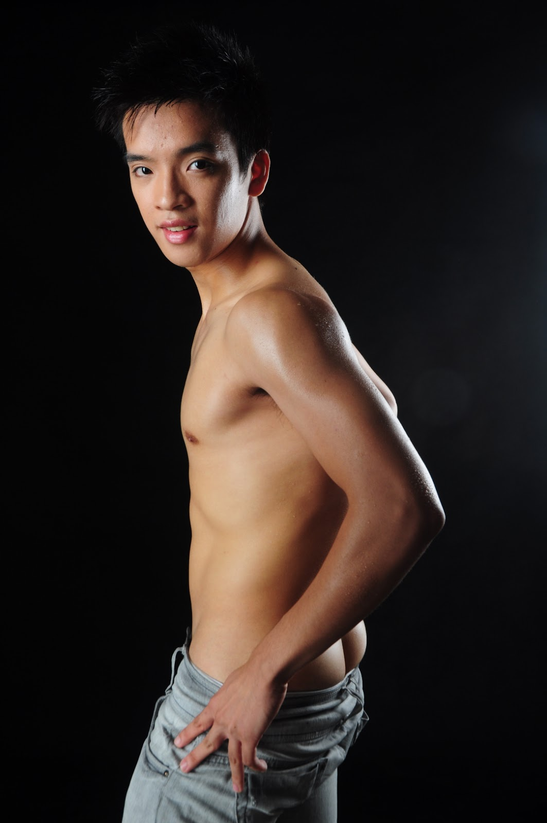 TJ Alonzo Shirtless for Gapang