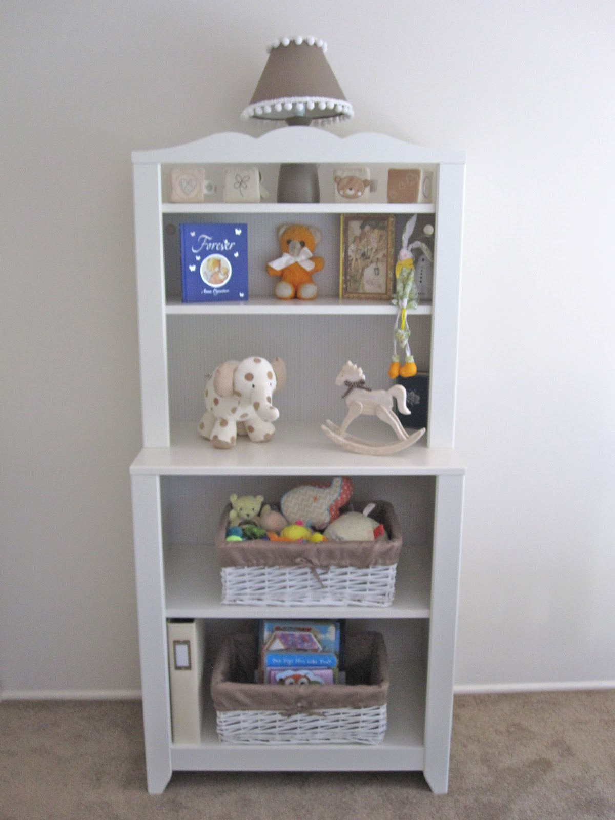 Along The Same Wall As The Doorway Is The Chest Of Drawers. I Decided To  Use A Double Chest Of Drawers, So That It Could Also Serve As A Changing  Table Too.
