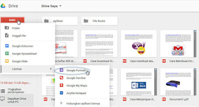 Cara Membuat Formulir Pendaftaran Dengan Google Docs