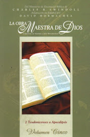 LA OBRA MAESTRA DE DIOS VOLUMEN 5 - CHARLES R. SWINDOLL
