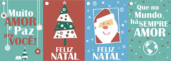 Cartaz - cartão de Natal - download