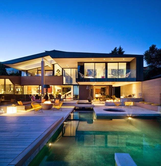 أحدث تصاميم منازل