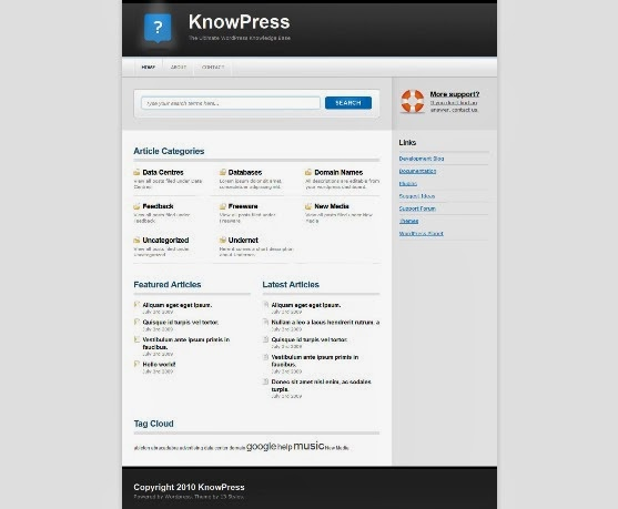 KnowPress WordPress Knowledge Base Theme
