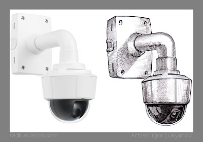 AXIS P5512-E Dome Network Camera