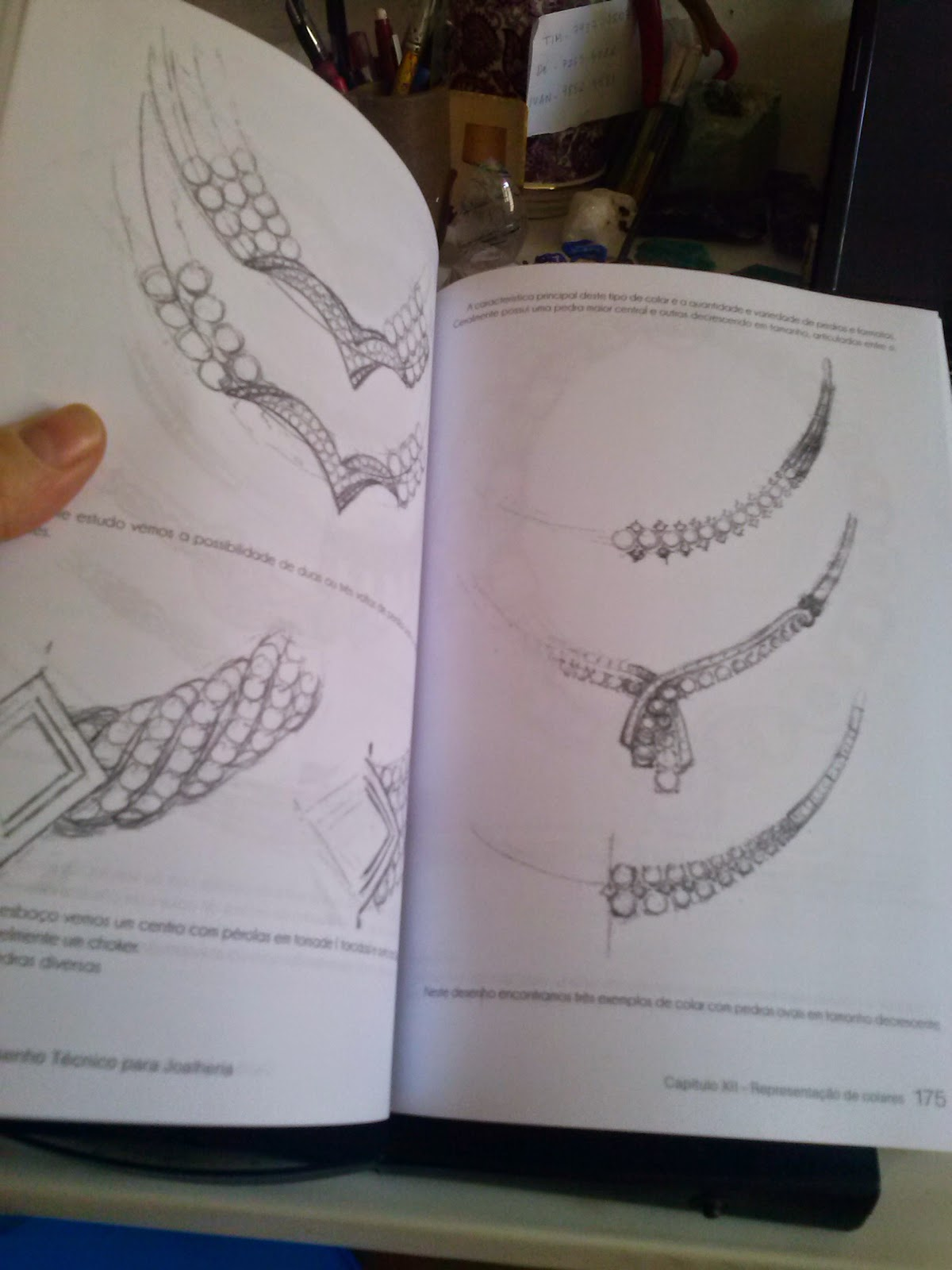 Muito Desenhando Joias: Livro Desenho Técnico de Joias PR56