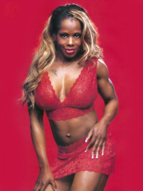 Jacqueline von WWE Wrestling Nacktfotos