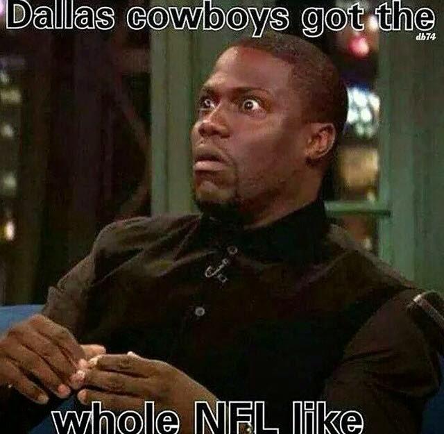 dallas cowboys got the whole nfl like