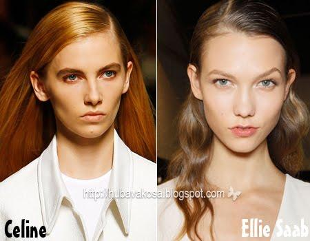 Дълга коса с път на една страна Тенденции Пролет/Лято 2012 от Хубава коса