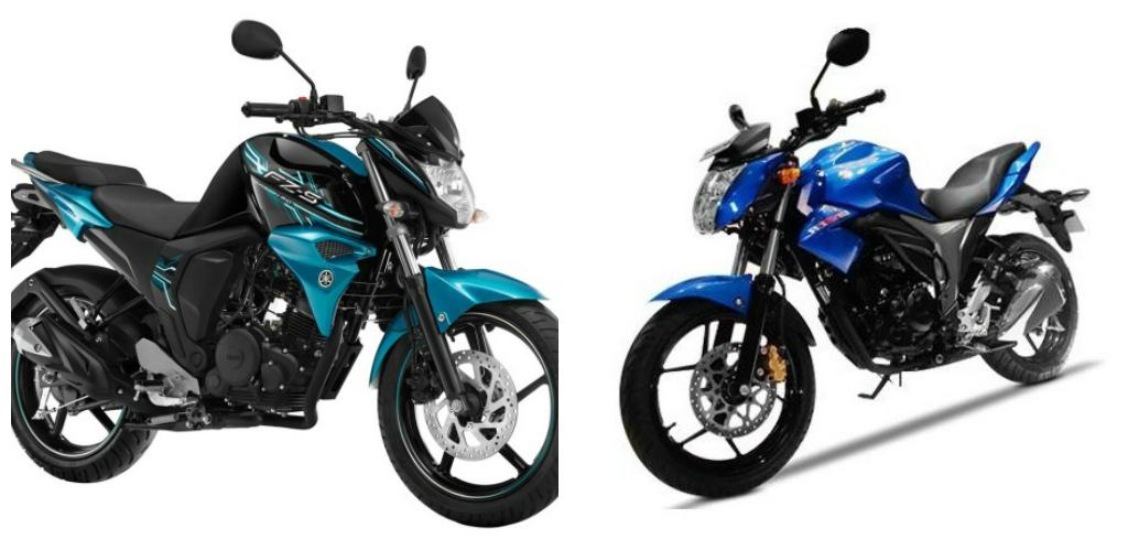 Yamaha FZ S V2.0 Vs Suzuki Gixxer