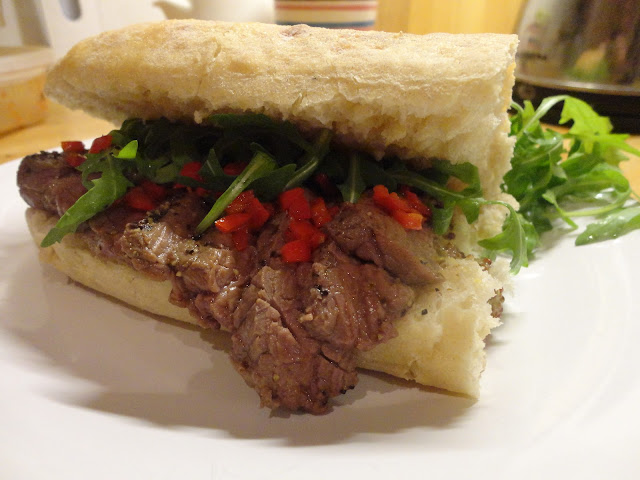 Steak sandwich recipe - 14