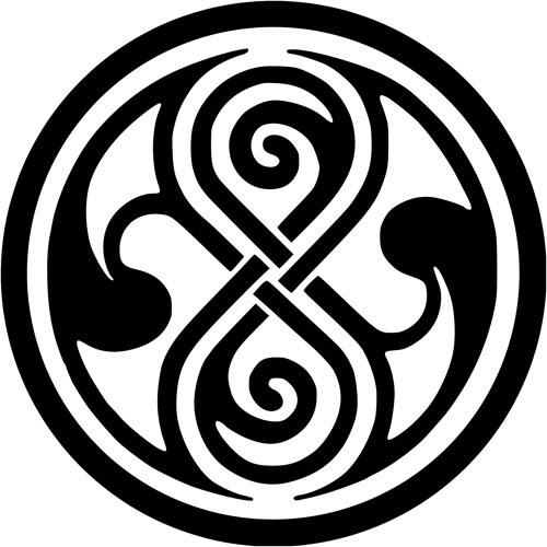 Celtic circle tattoo stencil