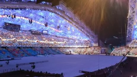 Fisht Stadium in Sochi, Russia