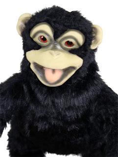 Baby Monkey Latex Puppet