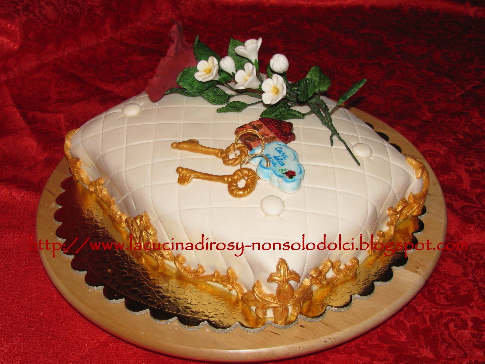 Le torte decorate di rosy torta casa dolce casa for Decorazioni torte ladybug