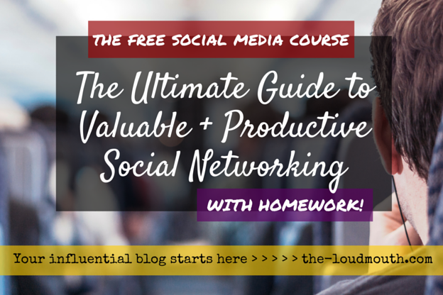 Social Media E-Course on Networking for Bloggers