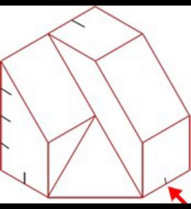 Figura 27: Sistema diédrico - obtención de vistas