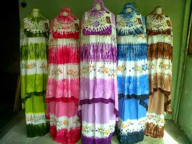 Mukena Rayon Bali Rempel Jumbo