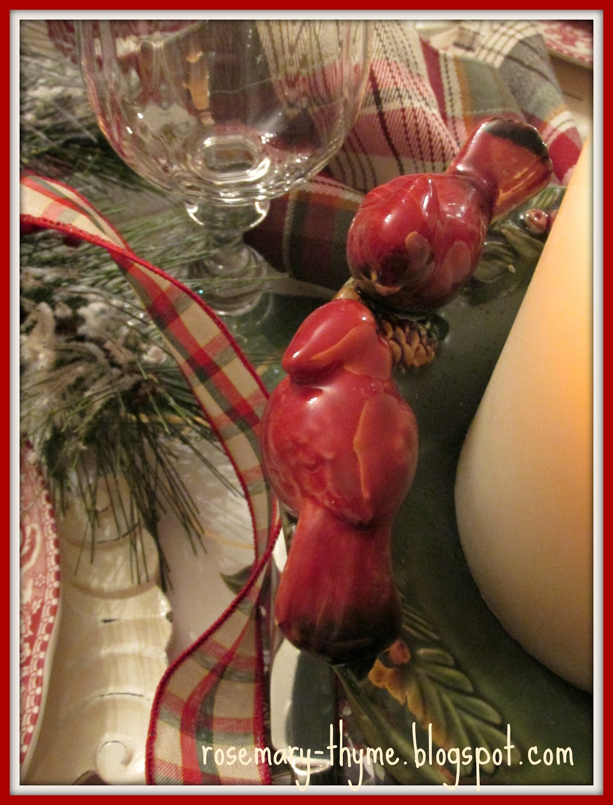 Johnson Bros Christmas Dishes