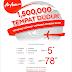 AirAsia menawarkan 1,500,000 Tempat Duduk