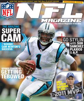 Sports Magazine Cover Football