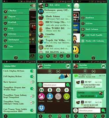 BBM Mod Super Mini v2.8.0.21 Apk