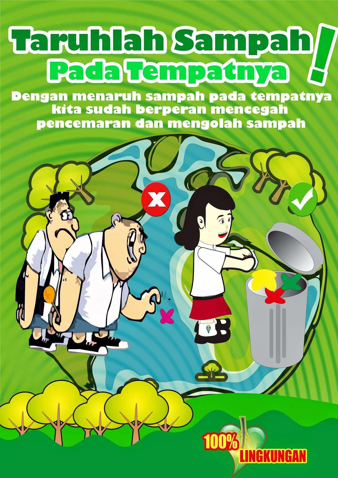 Joshua Hansel Nurdi's Blog: Poster buang sampah pada tempatnya!