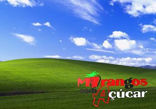 Morangos com Açucar Wallpapers Grátis Logotipo da série juvenil portuguesa em fundo Paisagem Alentejana