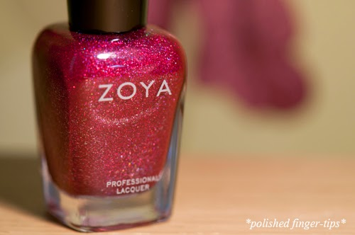 Zoya Blaze - artificial light