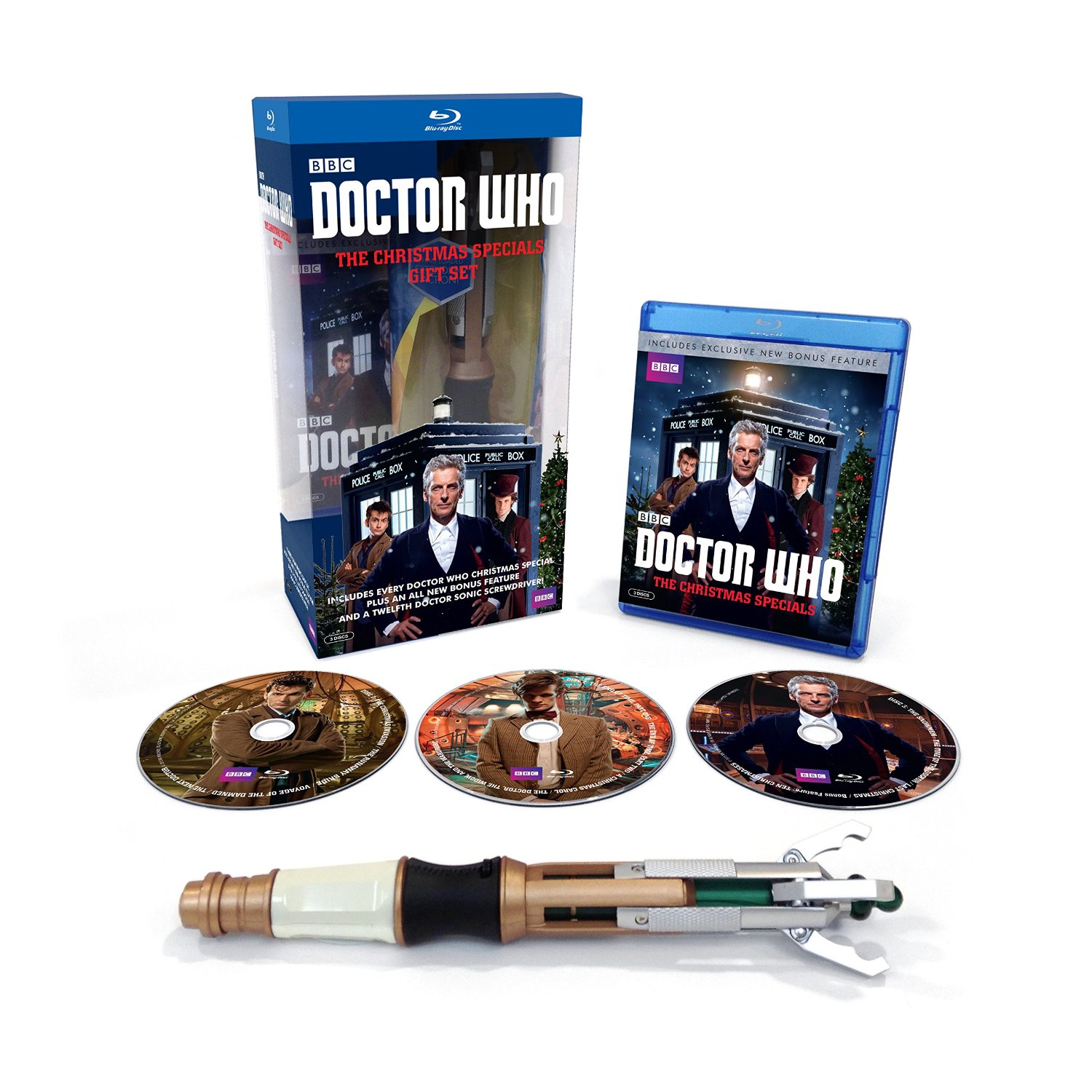US PRE-ORDER - Doctor Who: Christmas Specials DVD & Blu-Ray Box Sets