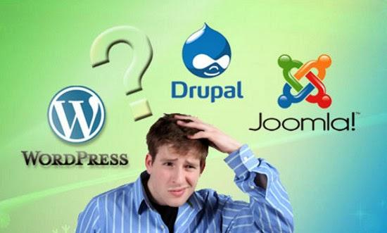 ¿Cual es el mejor CMS: Wordpress, Drupal o Joomla? - Infografia