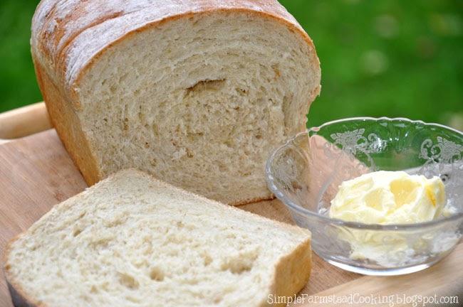 Simple Farmstead Cooking Oatmeal Sandwich Bread