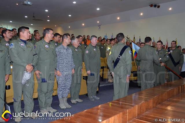 Ceremonia de apertura del Ejercicio Ángel de los Andes.