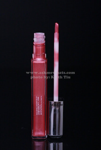 a photo of Revlon Ultra HD Lip Lacquers in shades Sunstone, Pink Sapphire, Garnet and Rose Quartz.