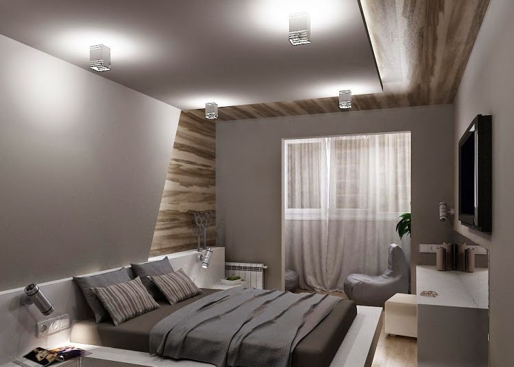 Fotos de habitaciones peque as dormitorios colores y estilos - Amueblar habitacion pequena ...