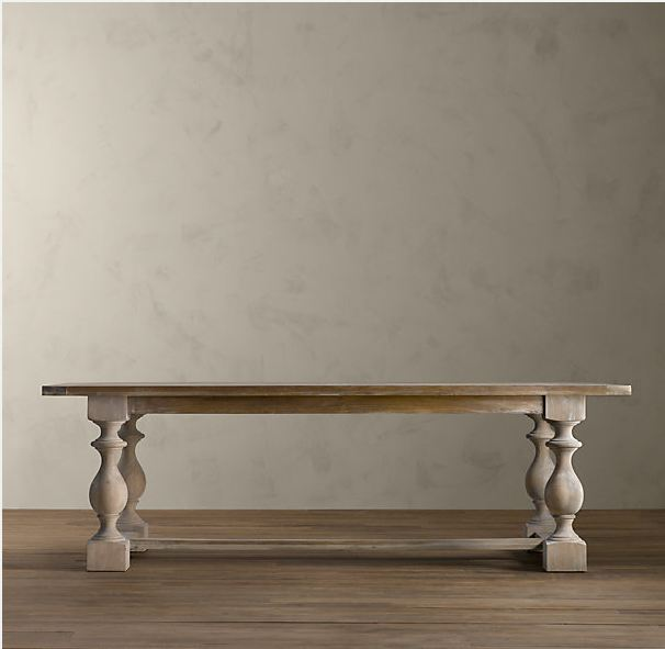 Restoration Hardware 17th C. Monastery Rectangular Table | Decor Look Alikes