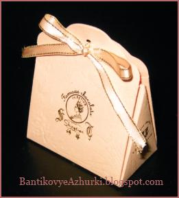 Подарочная упаковка с лентой своими руками