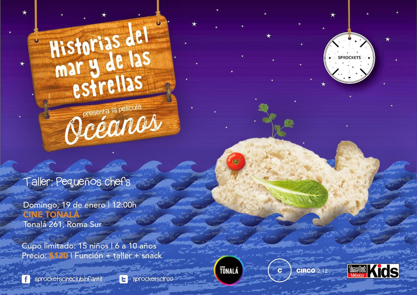 """El cineclub infantil Sprockets presenta """"Océanos"""" en el Cine Tonalá"""