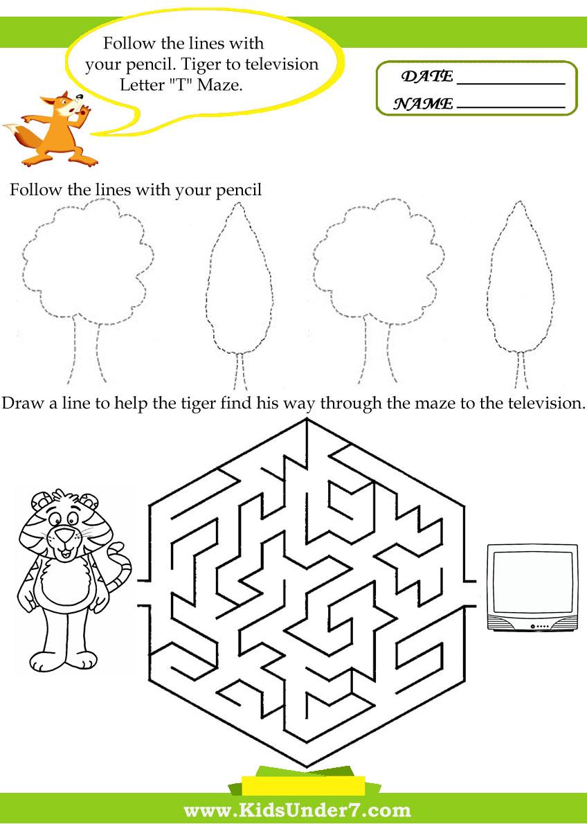 Kids under 7 letter t worksheets letter t worksheets ibookread ePUb